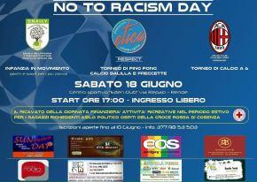 NO TO RACISM DAY 18GIU16